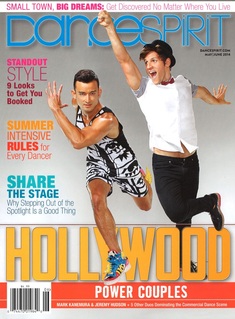 May/June 2014 Dance Spirit Cover