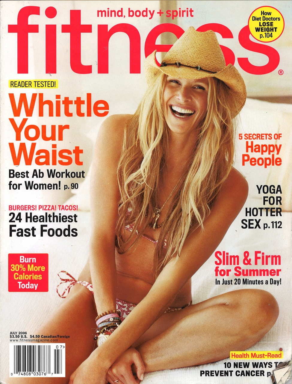 July 2006 Fitness Cover