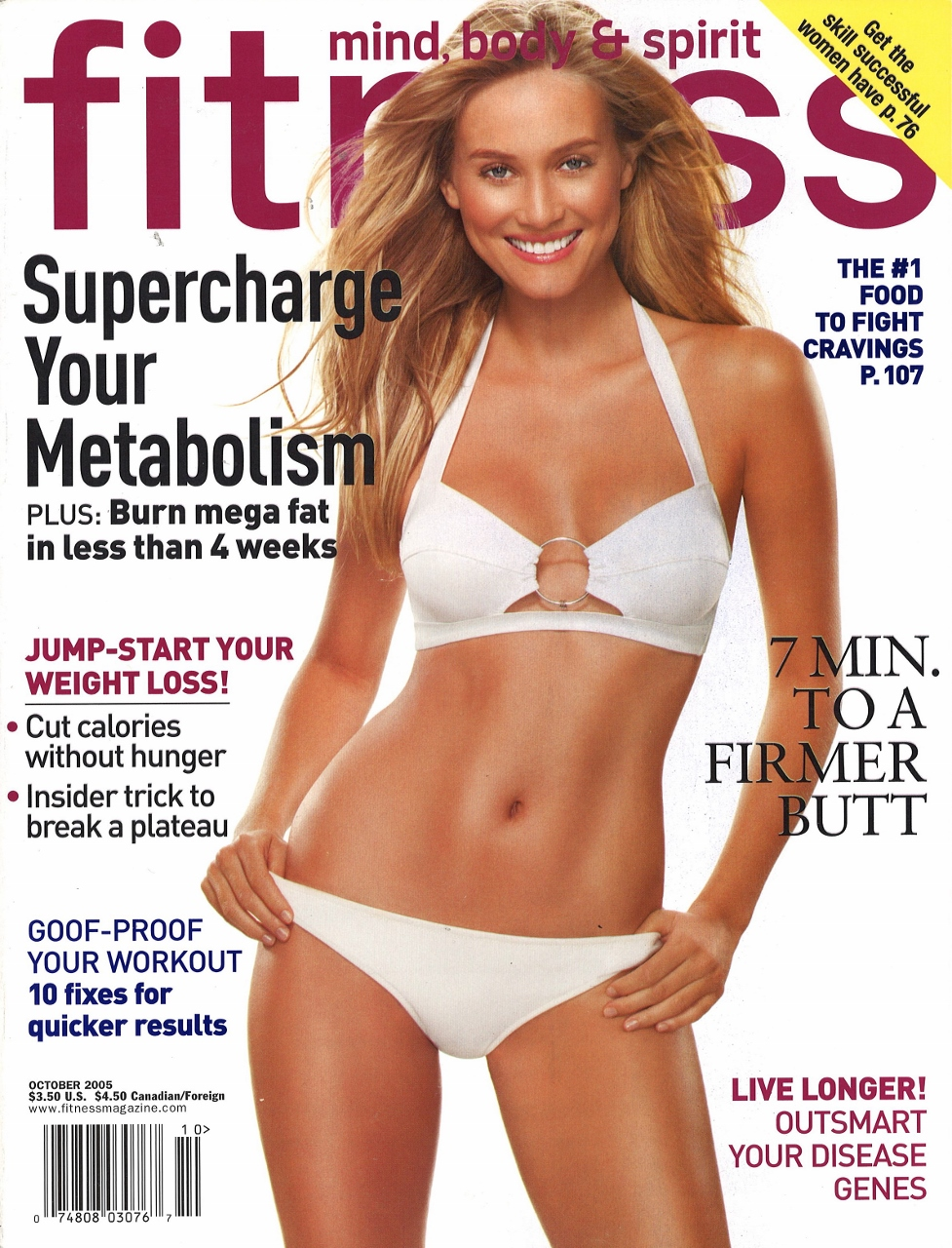 October 2005 Fitness Cover