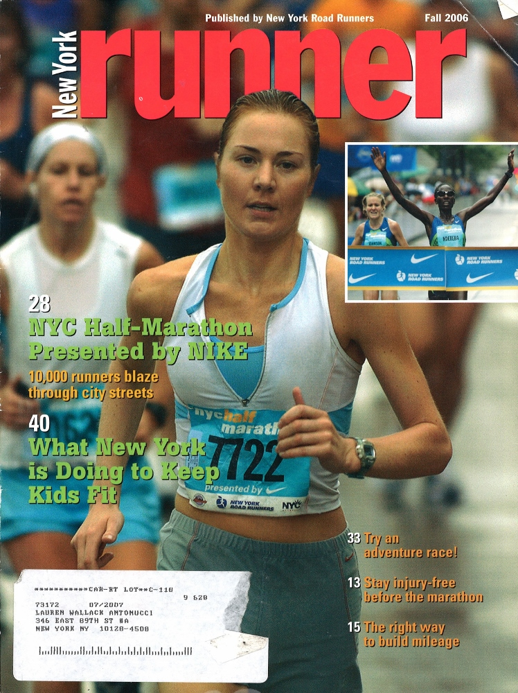 Fall 2006 NY Runner Cover