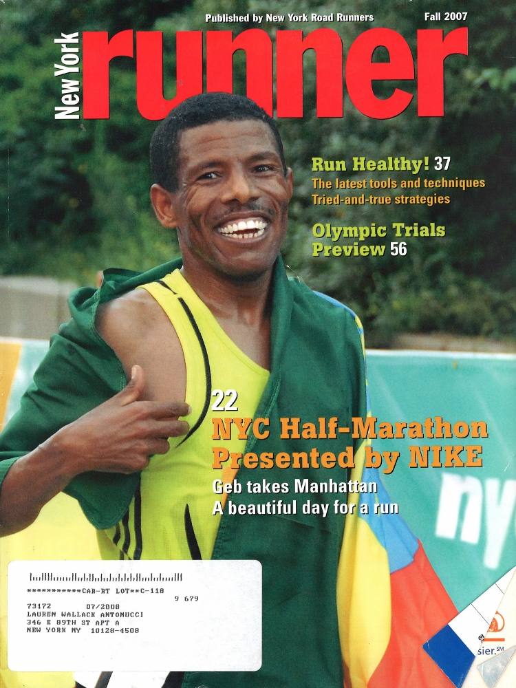 Fall 2007 NY Runner Cover