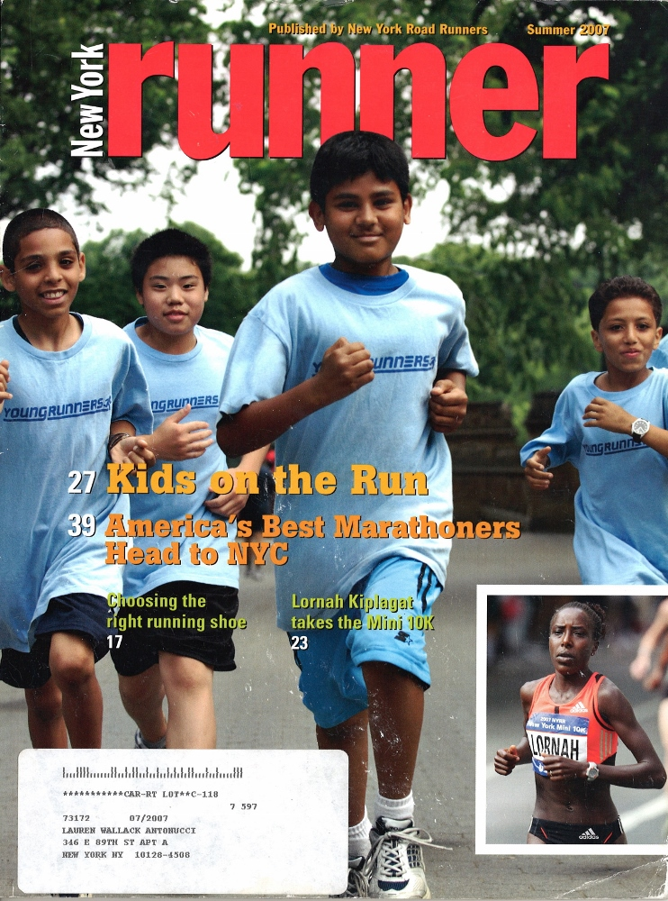 Summer 2007 NY Runner Cover