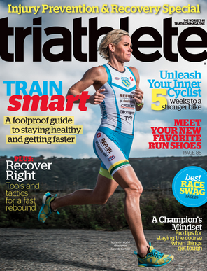 June 2013 Triathlete Cover