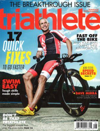 Triathlete Magazine Aug 2015