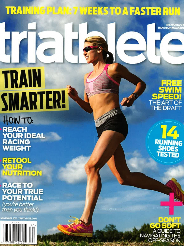 November 2012 Triathlete Cover
